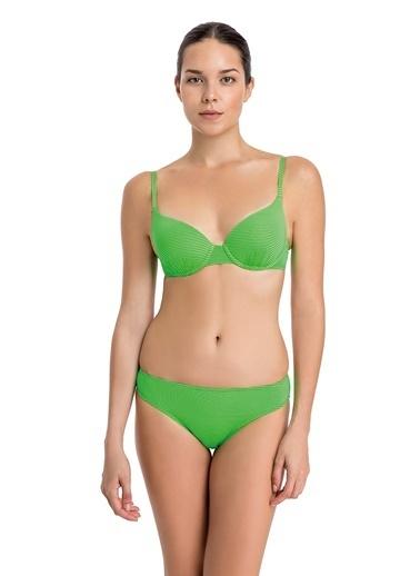 Dagi Kaplı Bikini Üst Yeşil